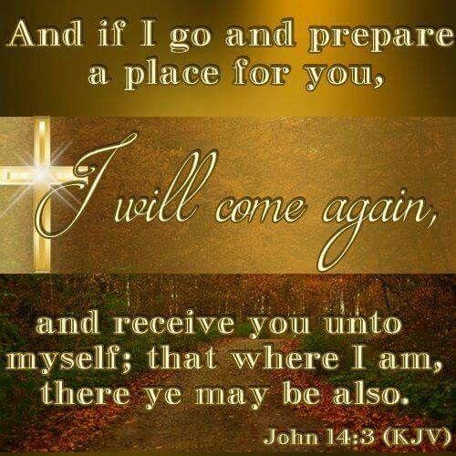 John 14:3 KJV