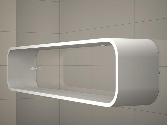 Mamparas ducha y ba o duscholux free wave estante de - Estante para ducha ...