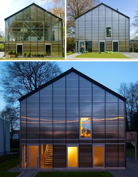 Greenhouse Home Exterior Design Architecture Interiors