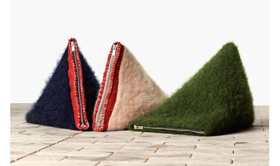 La pochette Berlingot de C¨¦line   Felted Bags, Celine and Clutches