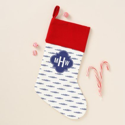 Blue Rowing Rowers Crew Team Water Sports Christmas Stocking - christmas stockings merry xmas cyo family gifts presents