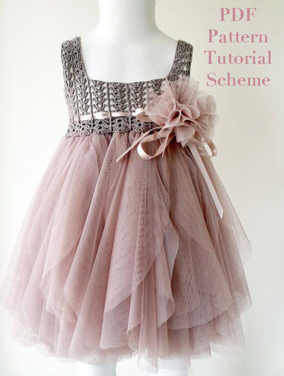 Best 25+ Crochet tutu dress ideas on Pinterest | Crochet ...