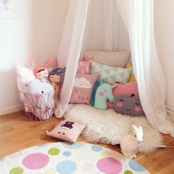 die besten 20+ kuschelecke kinderzimmer ideen auf pinterest - Kinderzimmer Idee Mdchen