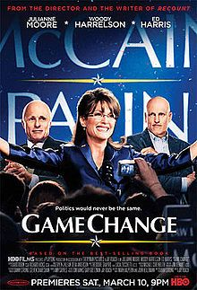 """Sarah Palin, the movie: Julianne Moore as the vice presidential candidate that challenged the status quo. Directed by Jay Roach (""""Recount"""")."""