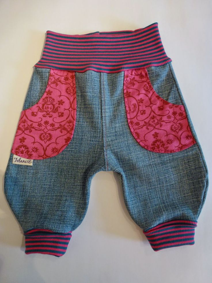 "Kinderhose aus alter Jeans / Children's pants made from old pair of jeans / Upcycling – Ines Maaz""lhuber"""