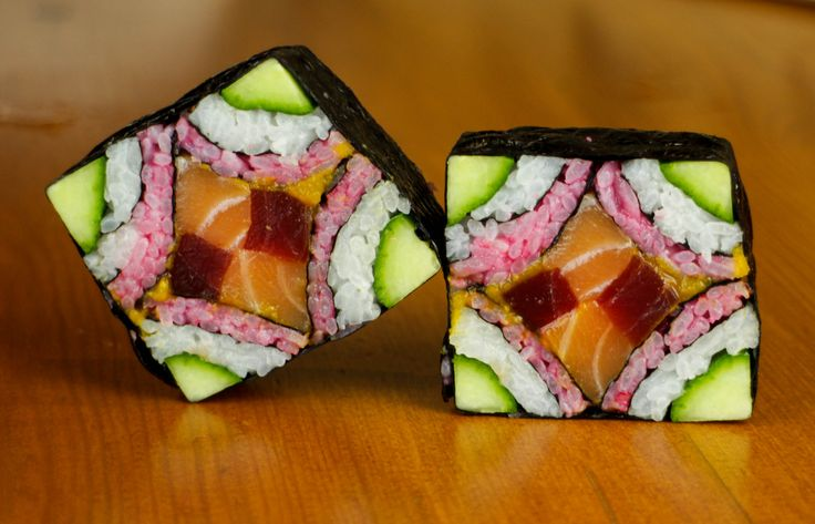 What do you think of this sushi art? To make your own amazing sushi like this at home, visit Saitaku online.