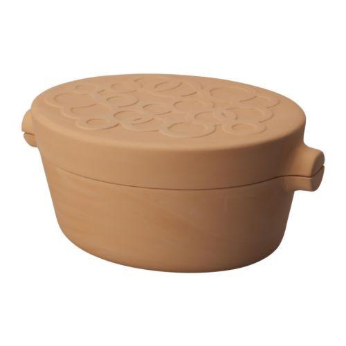 STIL Tonschmortopf IKEA Terra Cotta pot for cooking.