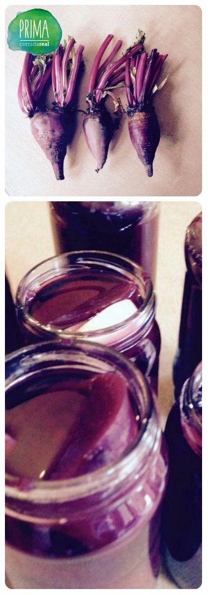 Remolachas en vinagre dulce