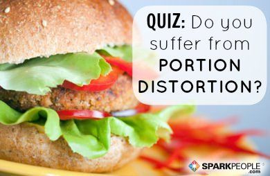 Portion control is an important skill to learn for any weight loss journey. How good at your portion skills? Take this short quiz to find out!   via @SparkPeople #food #diet #nutrition