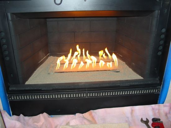 How To Convert From Wood To Gas Fireplace Diy Fireplace