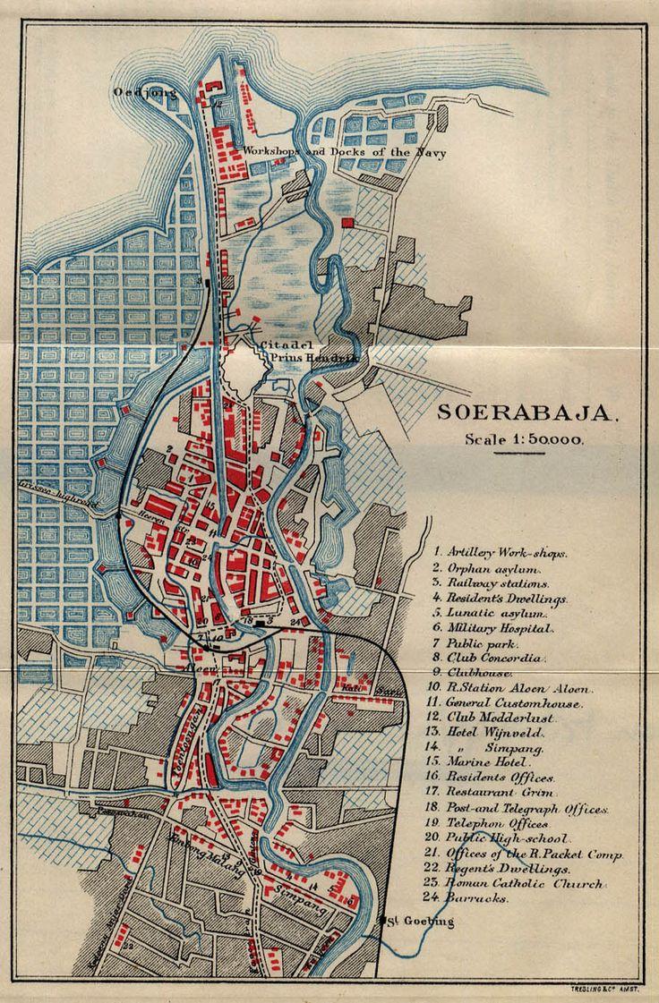 Map of Surabaya (1897)