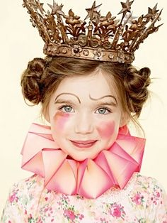 I like what they did with this little one's sweet face. Hmmm. Ideas. maquillaje carnaval niños 5 | Handspire