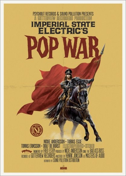 Imperial State Electric's POP WAR