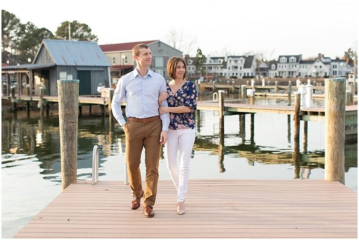 Engagement Session. Chesapeake Bay Maritime Museum Wedding Photography. Laura's Focus Photography.