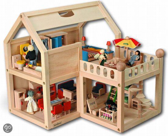 25 beste idee n over houten poppenhuis op pinterest for Poppenhuis te koop