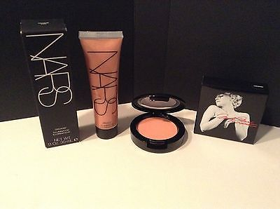 MAC and NARS Cheek Lot! Marilyn Monroe Blush LEGENDARY Illuminator ORGASM! NEW!
