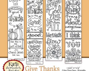 2017 NEW Beginnings New Year Color Your Own Bookmarks Bible Journaling Tags Tracers Instant Download Scripture Digital Printab