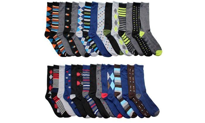 John Weitz Men's Dress Socks (30-Pair-Pack): John Weitz Men's Dress Socks (30-Pair-Pack)