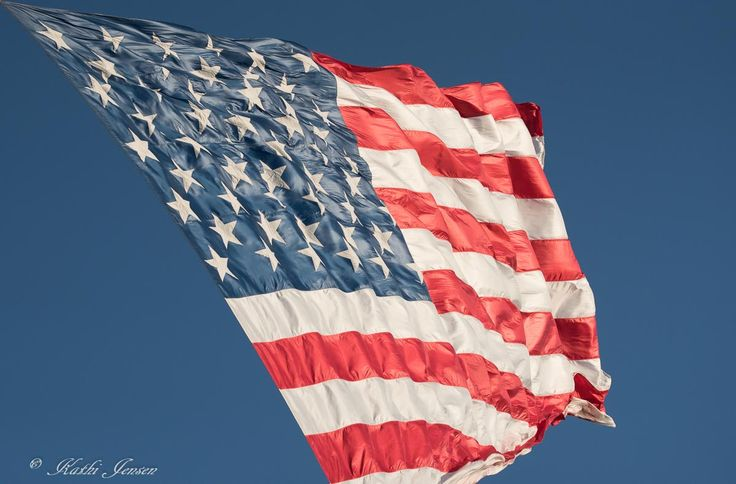 This unique image of our American flag flying in has special meaning.  It's sold on etsy.com at natureartgallery.  See the story there.