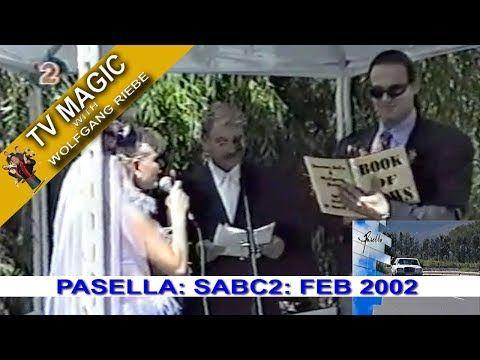 TV Magic Pasella Wolfgang Riebe Apr 2002