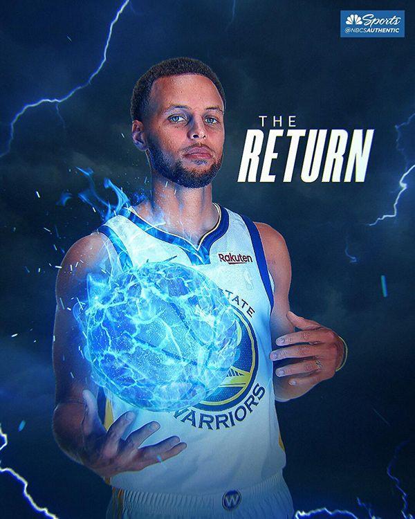 Stephen Curry   Grafiken für seine Rückkehr NBA bei Behance   – Cameron Dallas