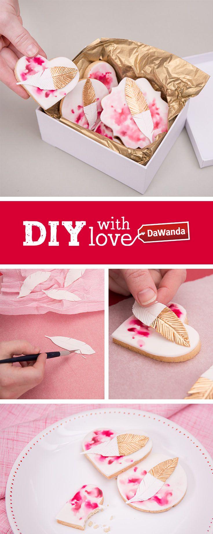A la recherche d'inspiration culinaire ? Un tuto DIY facile à réaliser, et tellement beau ! Produit dans nos studios à Berlin. Sur DaWanda.com