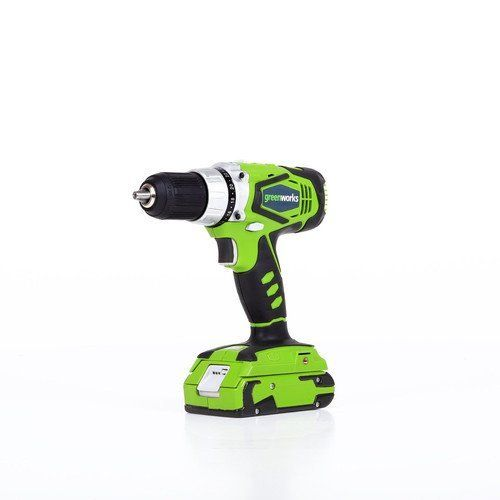 Special Offers - Greenworks 24V Cordless 0.5 2-Speed Drill  2 Batteries and Charger   37012B For Sale - In stock & Free Shipping. You can save more money! Check It (November 13 2016 at 12:05PM) >> http://hammerdrillusa.net/greenworks-24v-cordless-0-5-2-speed-drill-2-batteries-and-charger-37012b-for-sale/