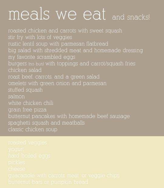 GAPS diet ideas. | Eating Differently {Gluten Free, Paleo ...