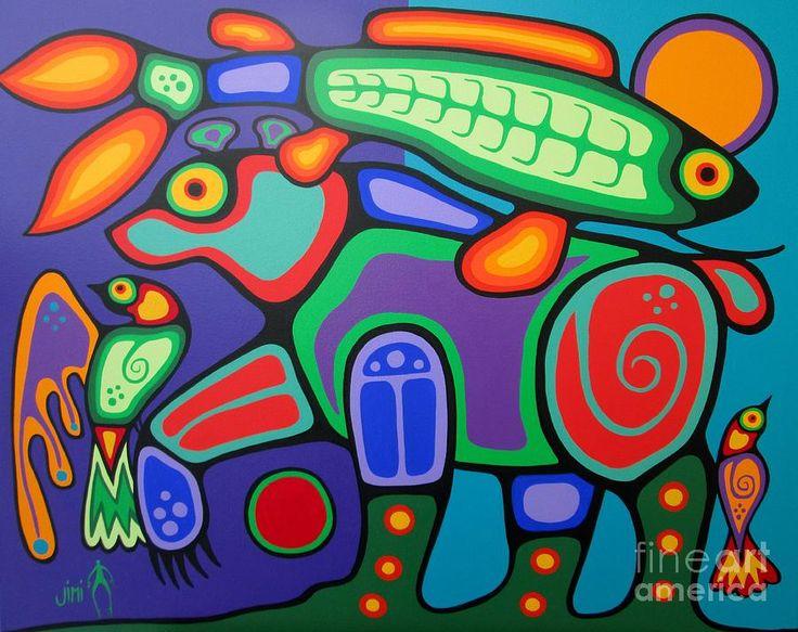 Spirit Bear - Jim Oskineegish