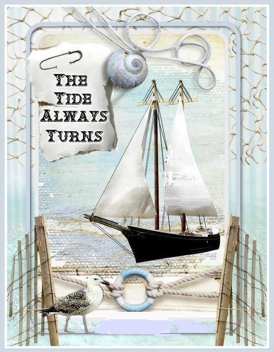 The tide always turns. By Waterlily Designs: http://folksy.com/shops/WaterlilyDesigns
