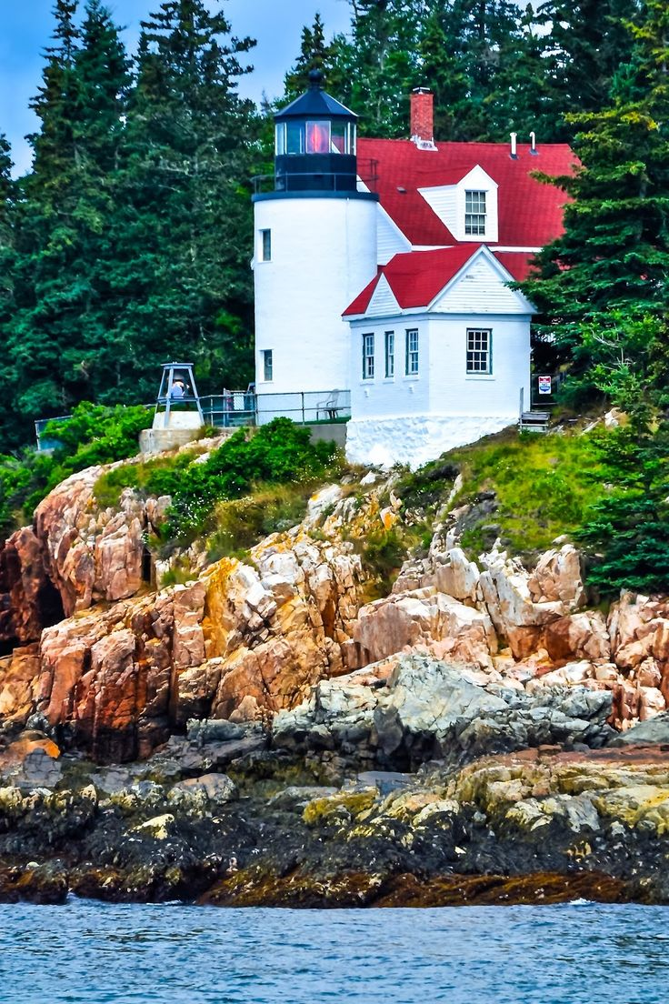Maine Lighthouses and Beyond: Bass Harbor Head Lighthouse. To enjoy my site on lighthouses, click on the above photo.