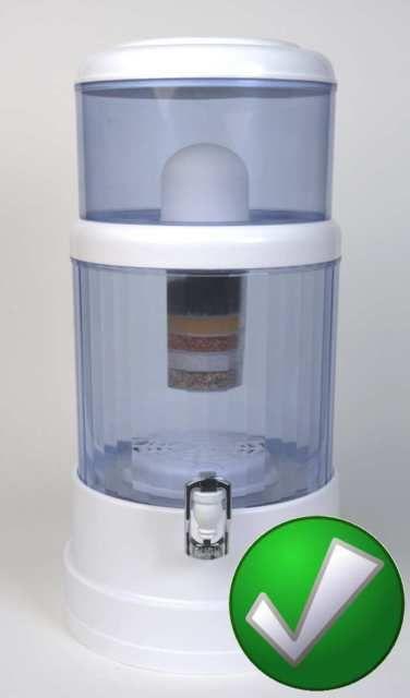 Alkaline Water Ionizer Purifier Countertop 6 Gallons 8 Stage Filtration