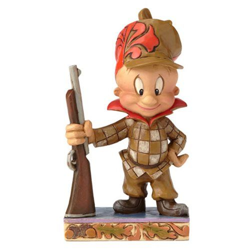 Looney Tunes Jim Shore Hunter Elmer Fudd Statue - Enesco - Looney Tunes - Statues at Entertainment Earth
