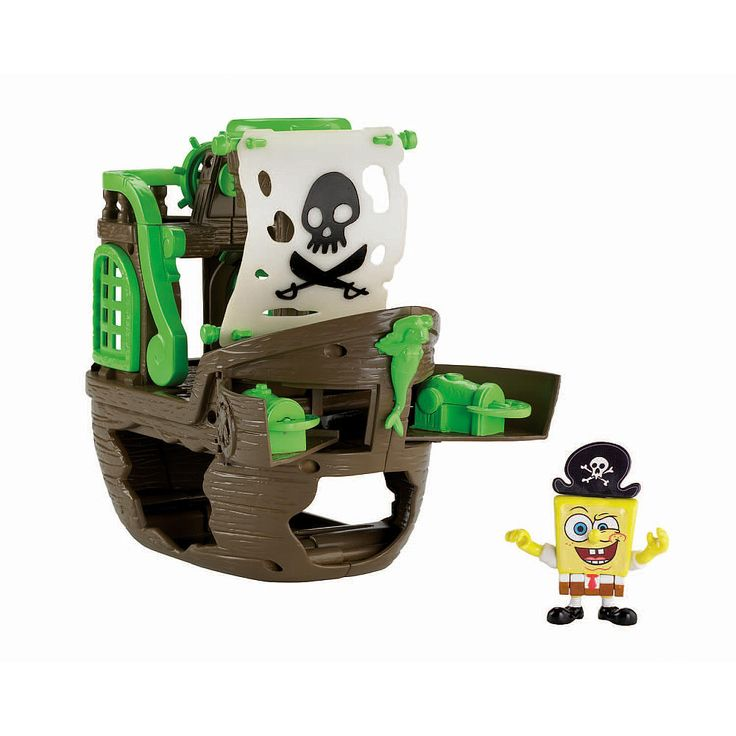Pirate Toys For Boys : Roman fisher price imaginext spongebob pirate ship