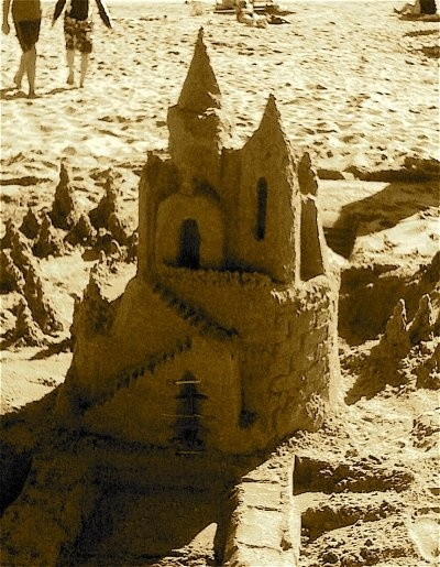 how to build sand castles