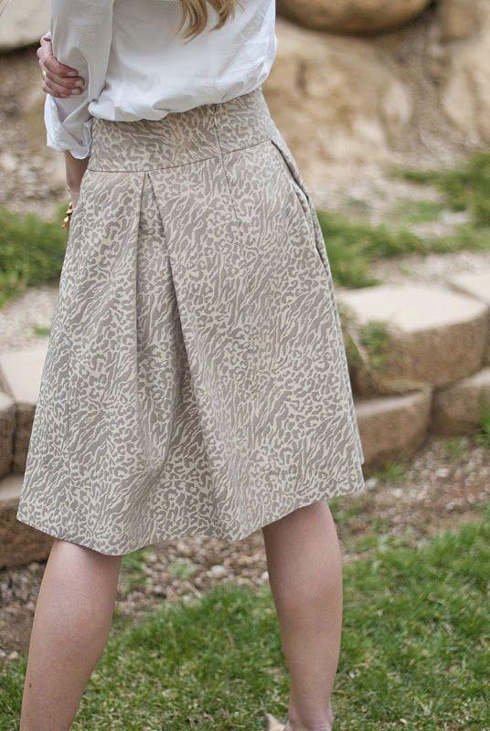 adorable pleat skirt