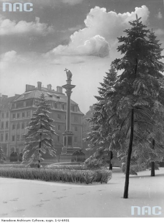Plac Zamkowy, 1938
