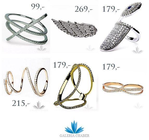 Pierścionki ze srebra 925, w kolorze złota i srebra, rodowane, wysadzane cyrkoniami o szlifie brylantowym. Wszystkie produkty dostępne na Galerii - Zapraszamy!