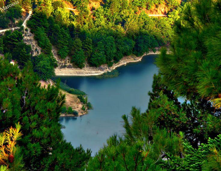lake tsivlou -
