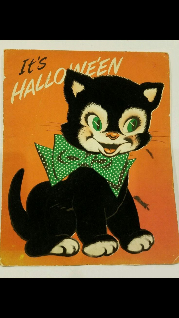 43 best Vintage HALLOWEEN images on Pinterest