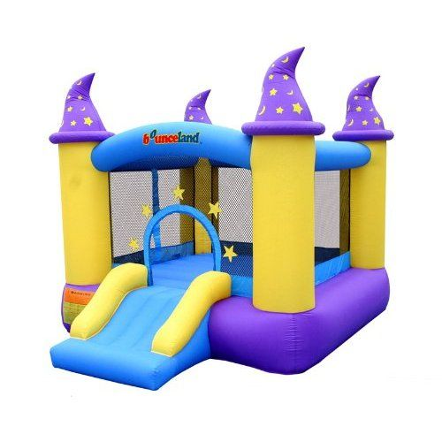 Wizard Inflatable Bounce House Bouncer #bouncehousesforkids