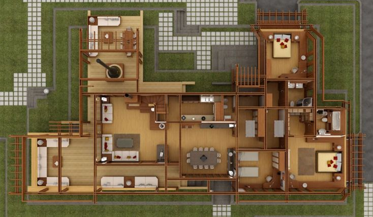 M s de 1000 ideas sobre planos de casas de madera en for Muebles san roque coristanco