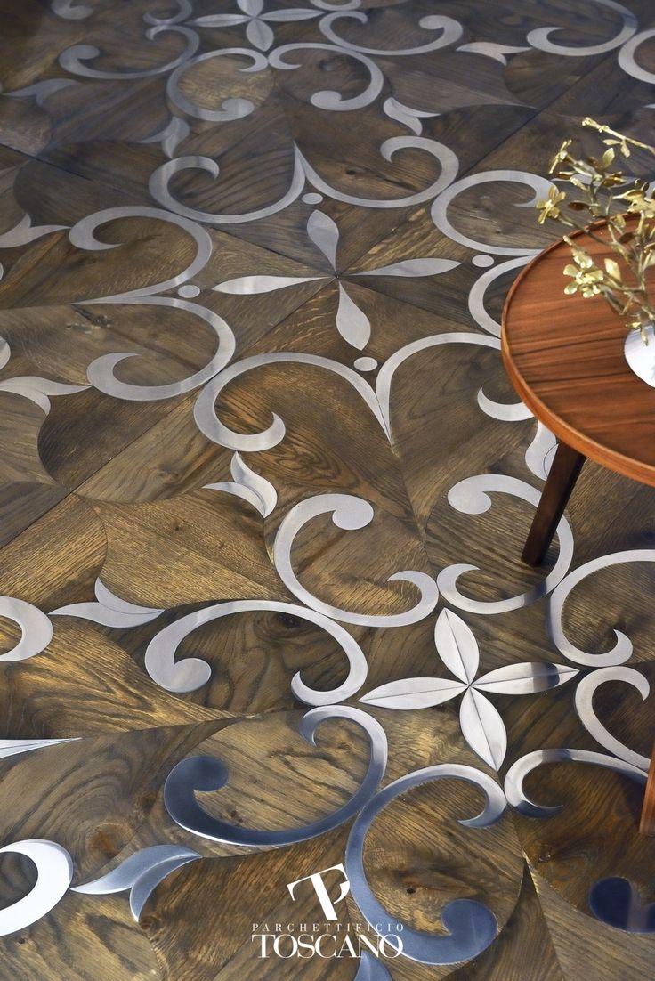 Mosaico de madera lusitania by parchettificio toscano srl - Mosaico de madera ...
