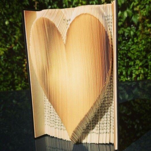 Folded a heart <3