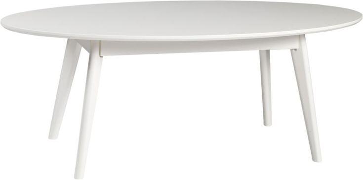 Köp - 1995 kr! Katie soffbord - Vit. Katie soffbord andas nordisk designretro. Fasad skiva och stilrent formsvarvade