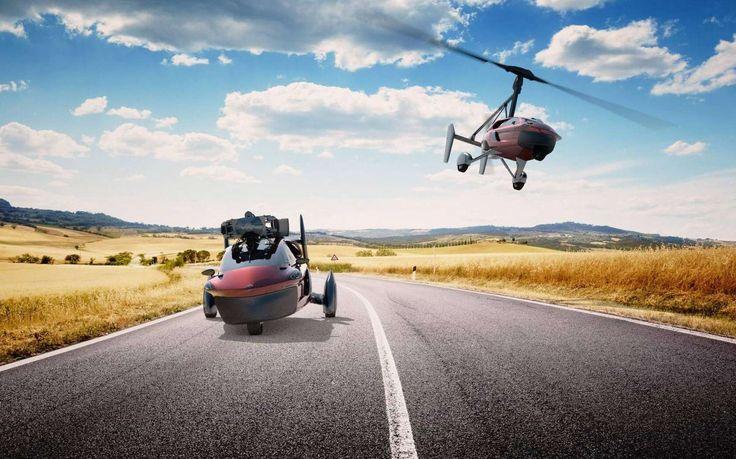 PAL-V Liberty : la voiture volante se lance dans un tour du monde