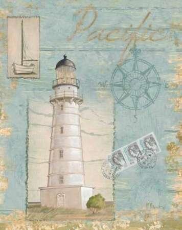 CUADROSTOCK.COM - Cuadro Seacoast Lighthouse II / PB