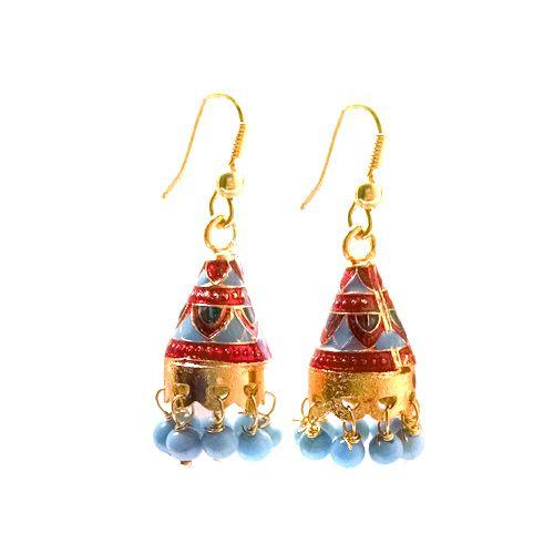 Multicolor Meenakari Earrings