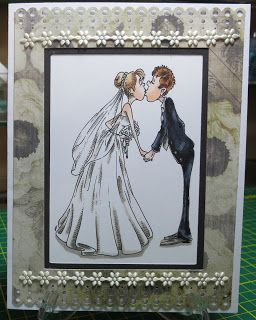 Geeky love kissing digi stamp Make it crafty