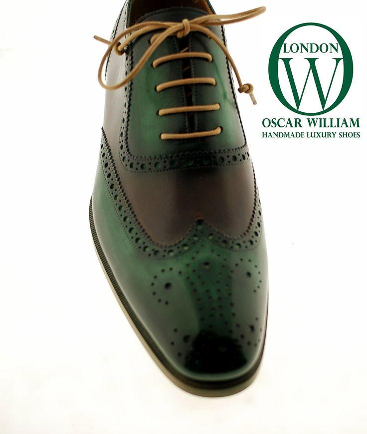Oscar William Elegant Handmade Mens Footwear Italian Calfskin Leather